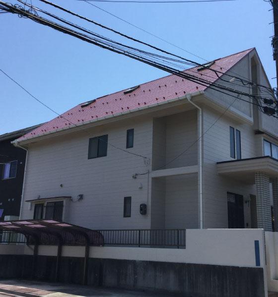 仙台市青葉区Y様宅住宅塗装工事風景