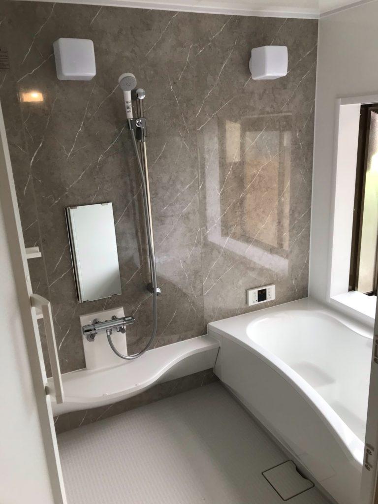 名取市K様宅浴室改修工事風景