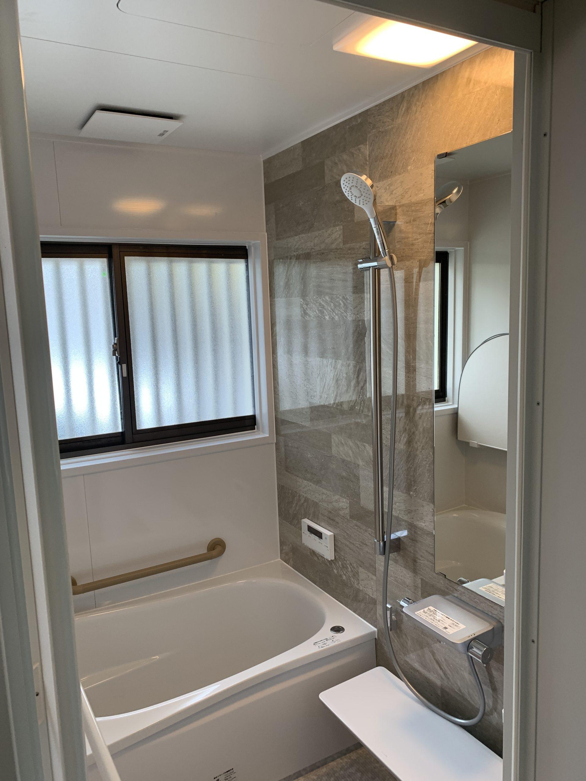 仙台市青葉区K様宅浴室改修工事風景